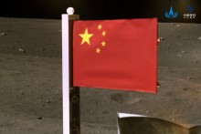 China Becomes Second Country To Plant Flag On Moon As Lunar Probe Returns To Earth