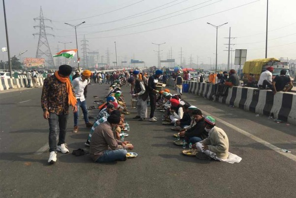 Delhi-Noida Key Route Shut Amid Farmers' Stir