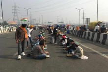 Delhi-Noida Key Route Shut Amid Farmers' Stir