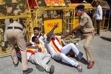 Karnataka Bandh: Protests Staged In Bengaluru, Transport Services Not Disrupted