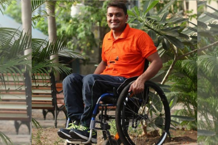Meet Shams Aalam, A Paraplegic World Record Holder, Athlete And Sports Diplomat