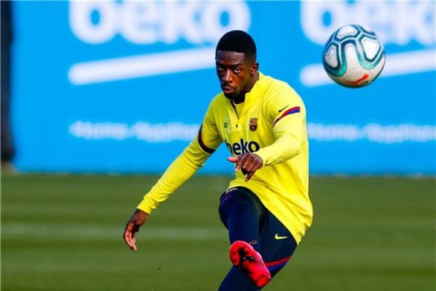 Ousmane Dembele Suffers Another Setback As Barcelona Forward Ruled Out With Hamstring Injury