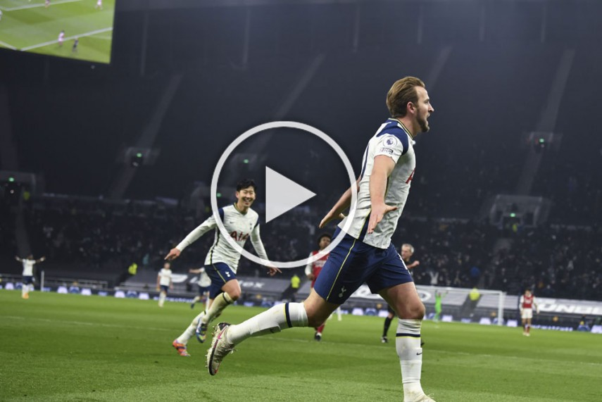 Tottenham Vs Arsenal Harry Kane Matches Mesut Ozil Record As Son Heung Min Scores Stunner In North London Derby Watch