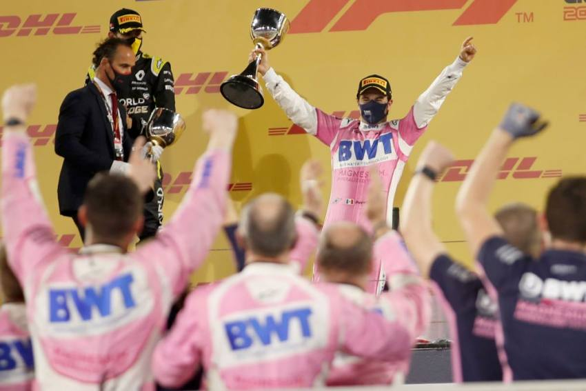 F1 2020: Sergio Perez Claims First Win After Mercedes Error Denies George Russell