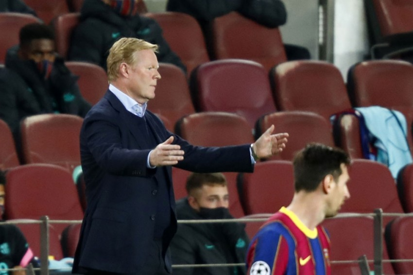 Ronald Koeman Hits Out At Fixture Schedule After Losing Ousmane Dembele To Injury