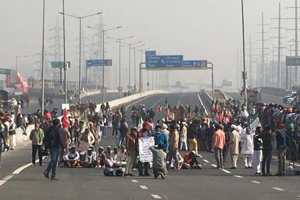 Agitators Block Highway In Aurangabad To Support Bharat Bandh