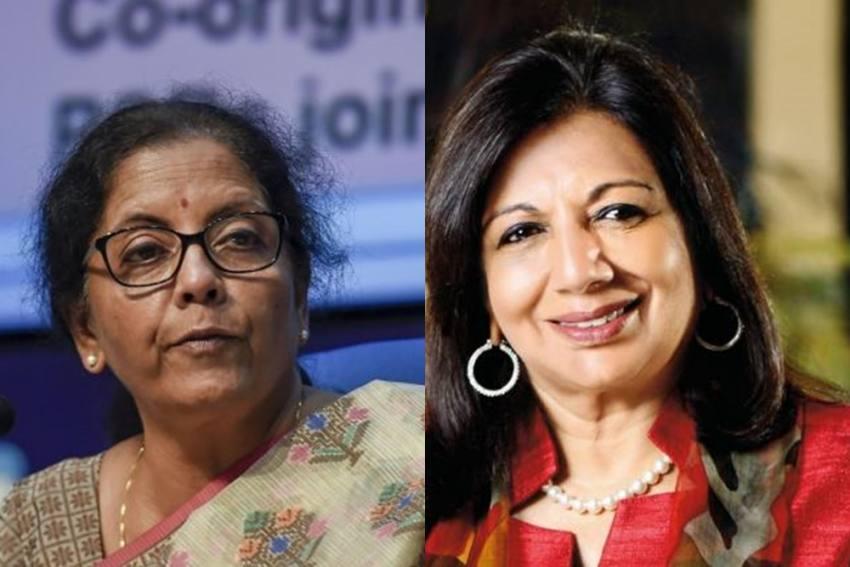 Nirmala Sitharaman, Kiran Mazumdar-Shaw In Forbes 2020 List Of 100 most Powerful Women