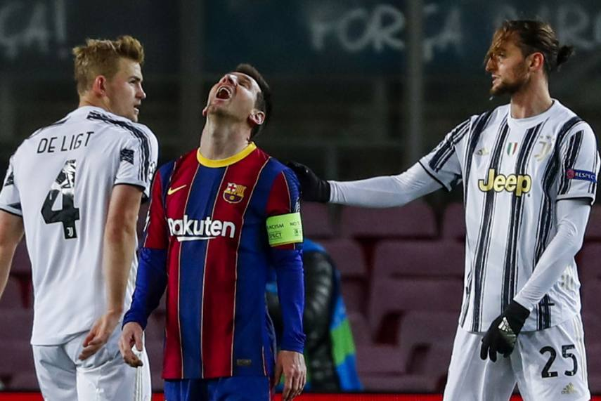 Barcelona Vs Juventus: Lionel Messi Fails As Antoine Griezmann Hopes 'Very  Ugly' Defeat Wakes Barca Up