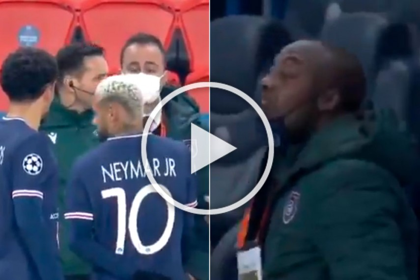 Psg Vs Istanbul Basaksehir Champions League Match Called Off After Shocking Racism Incident Watch