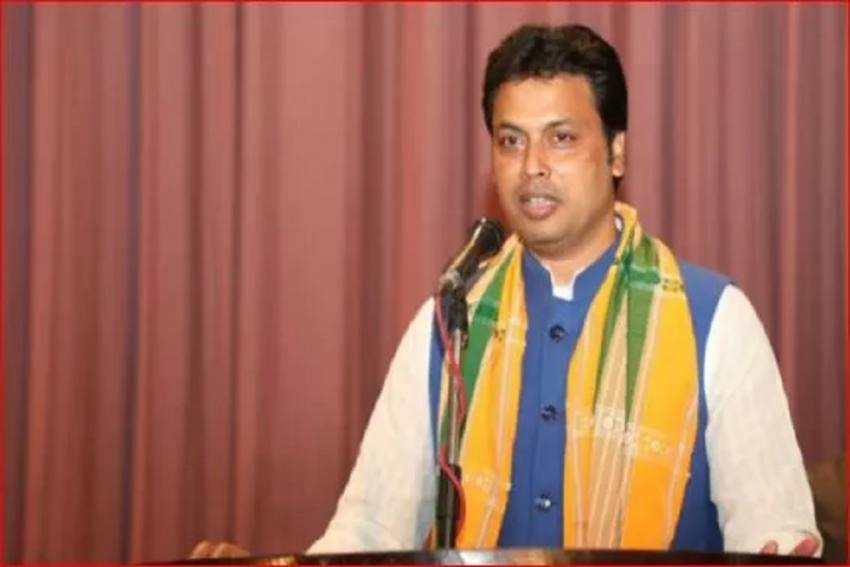 'Ready To Quit If People Want', Says Biplab Deb, Seeks People's Mandate After BJP Workers' Slogans