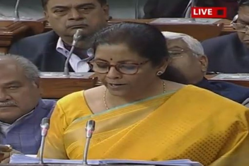 Nominal GDP Growth For FY21 Estimated At 10%, Says Nirmala Sitharaman