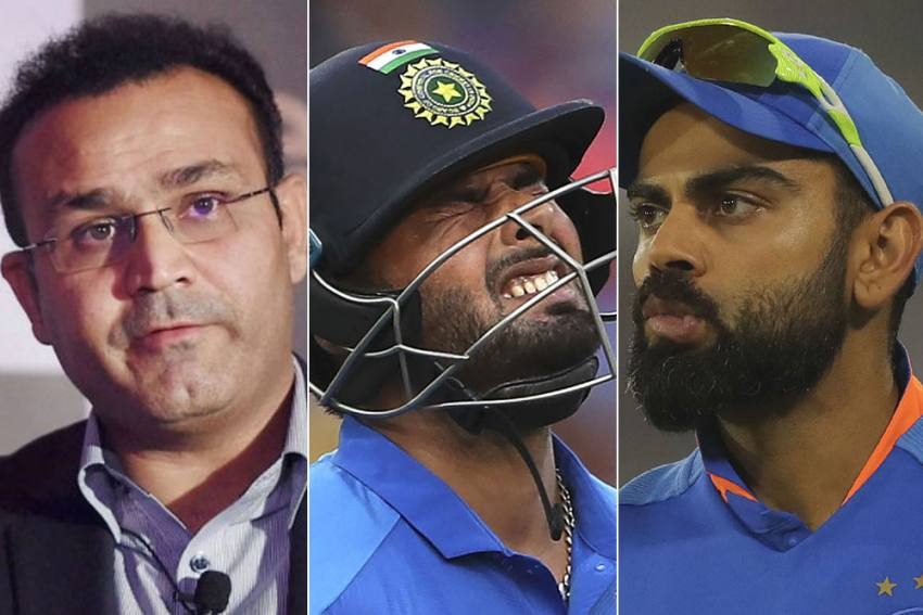 NZ Vs IND: Not Happy With Rishabh Pant's Exclusion, Virender Sehwag Poses Serious Questions To Virat Kohli