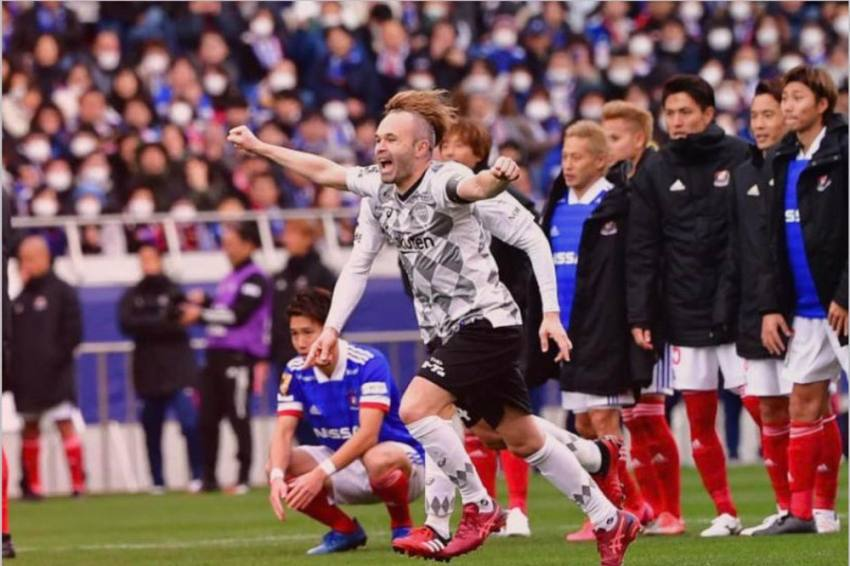 Andres Iniesta Debut As Virus Disrupts AFC Asian Champions League