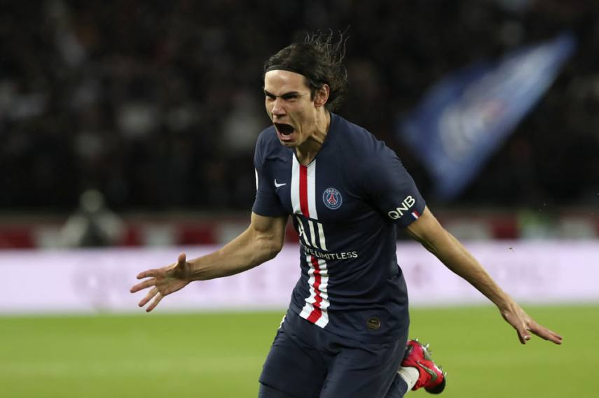 Ligue 1 Paris Saint Germain 4 2 Lyon Edinson Cavani On Target As Thomas Tuchel S Men Hold Off Fightback