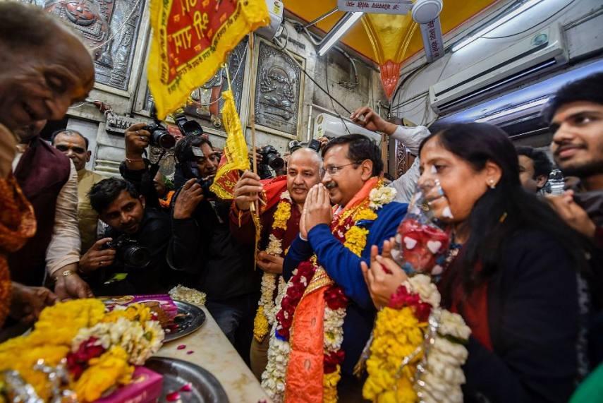 Image result for bjp need hanuman delhi kejriwal govt
