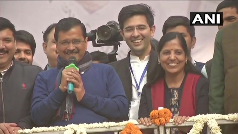 'I Love You': Arvind Kejriwal Tells Supporters As AAP Sweeps Delhi
