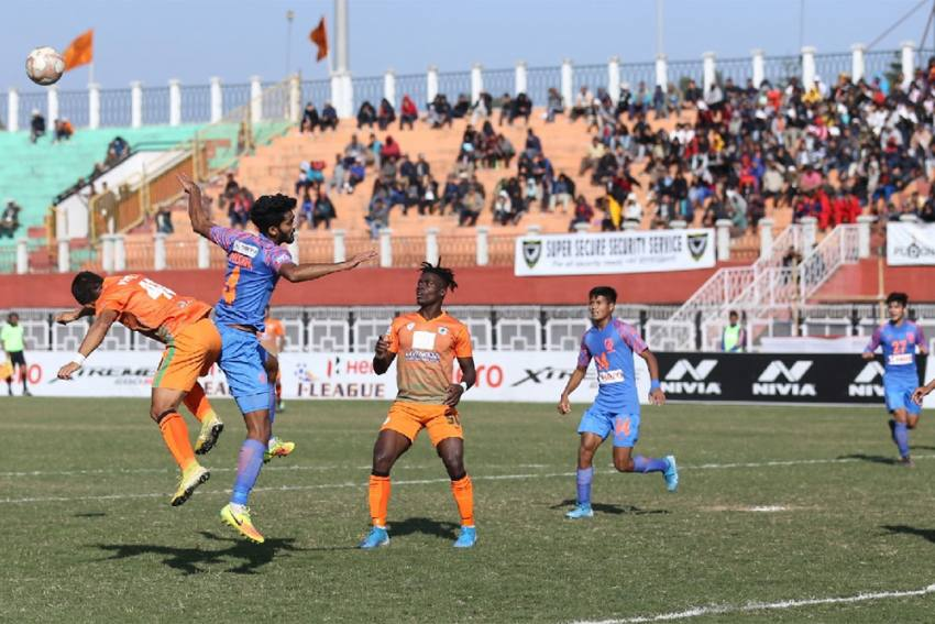 I-League: Indian Arrows, NEROCA Play Out Goalless Draw At Imphal