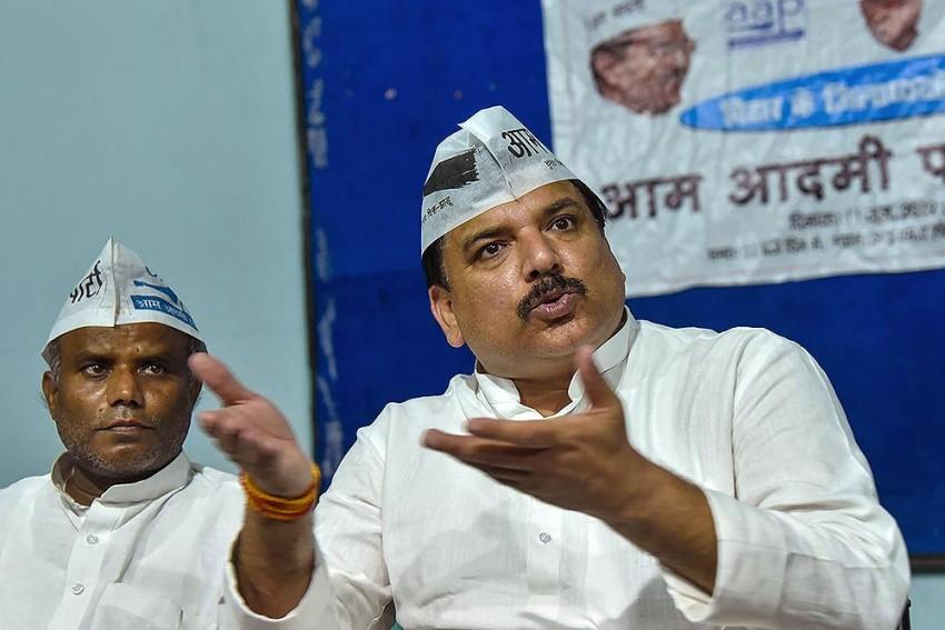 'Delhi Has Said Arvind Kejriwal Not Terrorist': AAP Leader Sanjay Singh