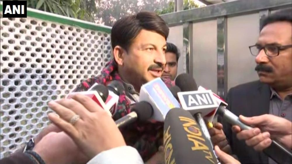 As AAP Leads, Manoj Tiwari Says, 'Whatever The Outcome, I'm Responsible'