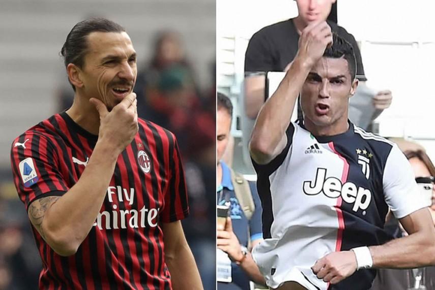 Ac Milan Vs Juventus Cristiano Ronaldo Zlatan Ibrahimovic Set For Italian Cup Clash