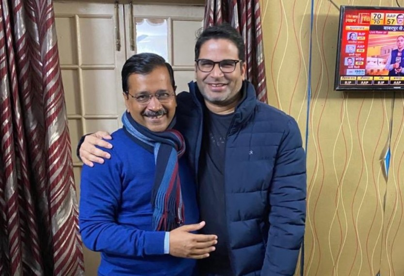 'Thank You Delhi...': Poll Strategist Prashant Kishor As AAP Heads For Victory