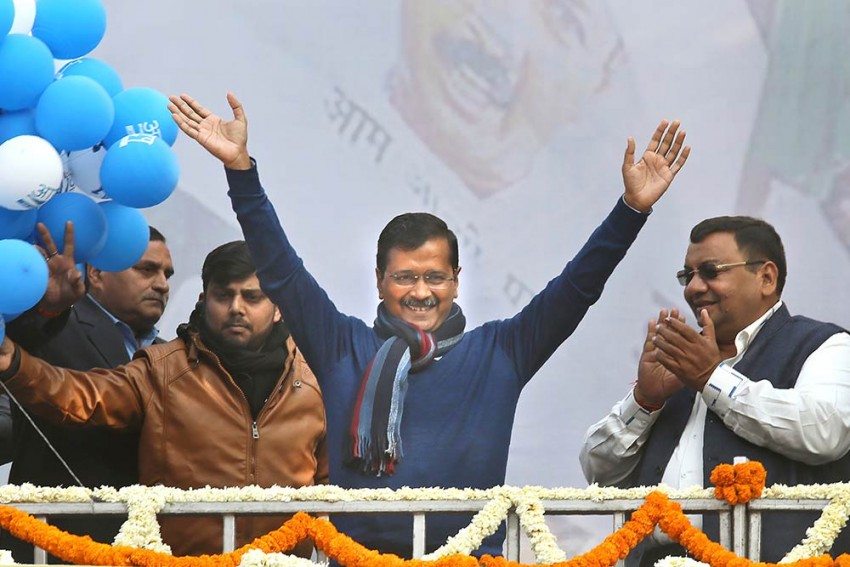 AAP's <em>'Jai Hanuman'</em> Riposte To BJP's <em>'Jai Shri Ram'</em> Is Here To Stay
