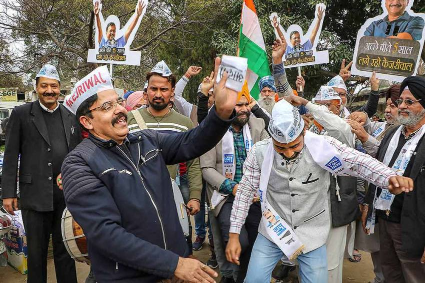 AAP Swept Delhi Election And These Candidates Brought A Tsunami Of Their Own