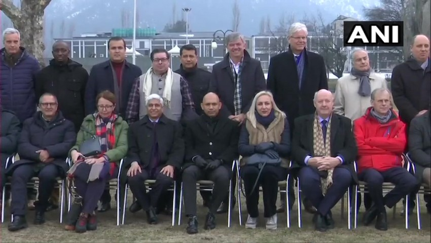 Second Batch Of Envoys Reach J&K To Assess Situation; Take Boat Ride In Dal Lake