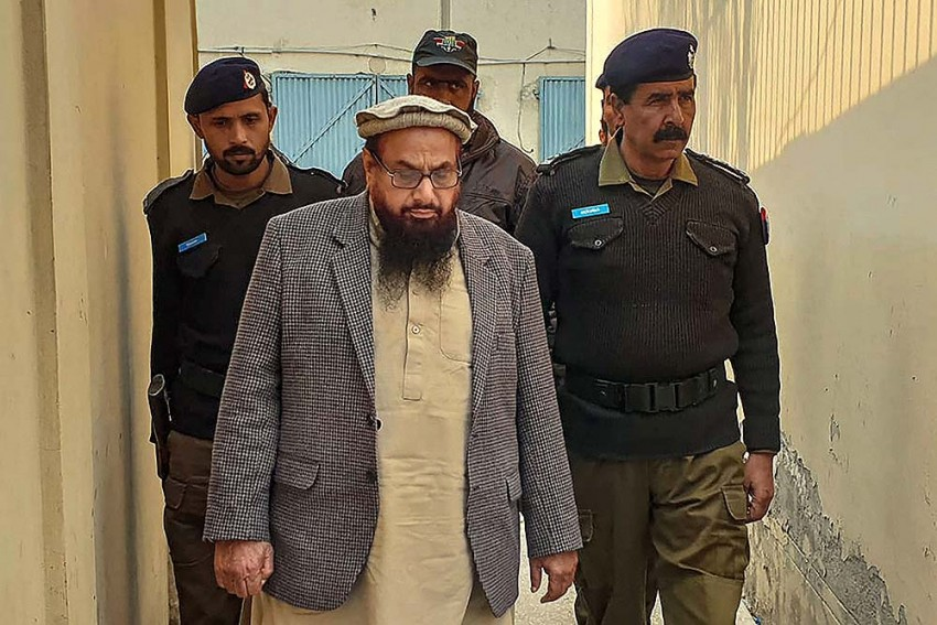 Hafiz Saeed Sentenced To Five-And-A-half Years Jail In Each Of Two Terror-Financing Cases