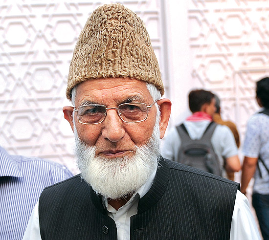 Internet Snapped In Kashmir Amid Rumours Surrounding Separatist Leader Geelani's Health