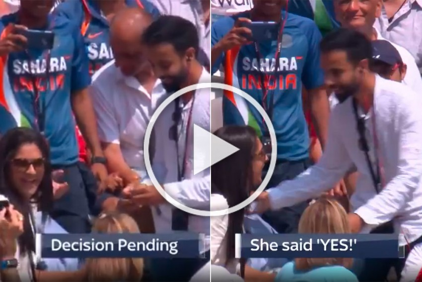 Lord's Feels The Love On Valentine's Day, Shares Video Of THAT Famous 'Desi Proposal' - WATCH