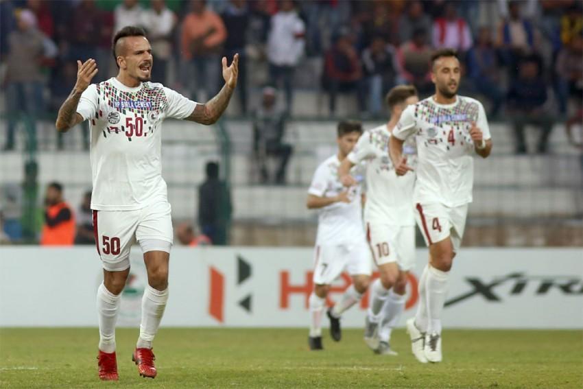 I-League: Fran Gonzalez Stars In Mohun Bagan Vs NEROCA FC Goal-Fest