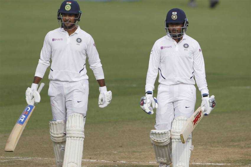 India's Tour Of New Zealand: Mayank Agarwal, Rishabh Pant Shine As Warm-Up Game Against NZ XI Ends In Draw