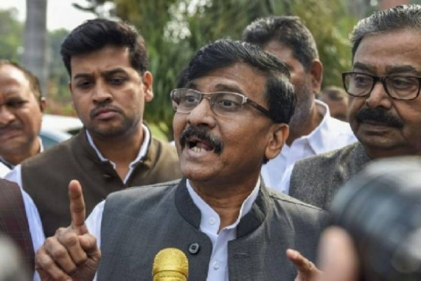 'Kejriwal Brought <em>Ram Rajya</em>...BJP Almost Fielded Lord Ram In Delhi': Sena Leader Sanjay Raut