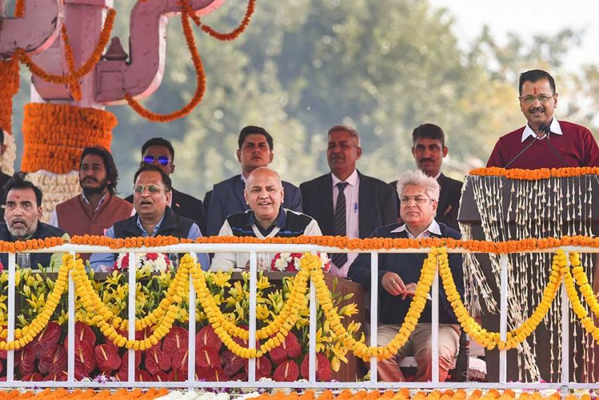Delhi: Six MLAs—All Men—Take Oath As Ministers In Kejriwal's New Cabinet