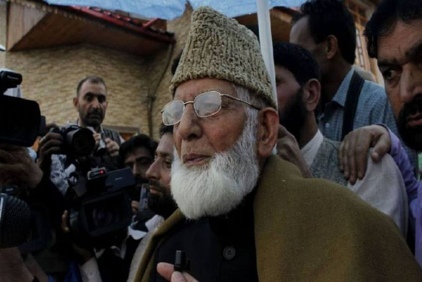 J&K Government Says Hurriyat Leader Geelani's Condition Stable
