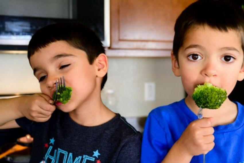 Watch What They Eat: A Healthy Kid, A Fit Adult