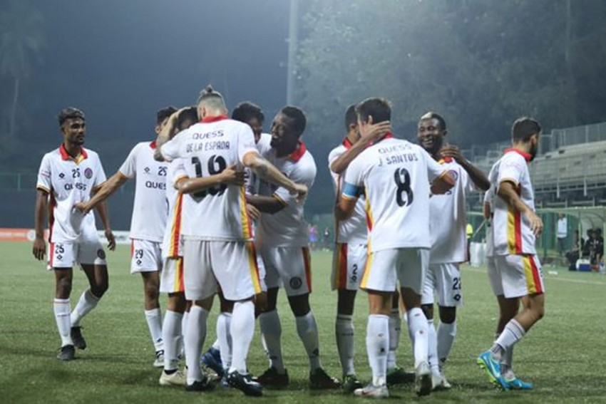 I-League Returns To Cooperage, East Bengal Exact Revenge On Indian Arrows