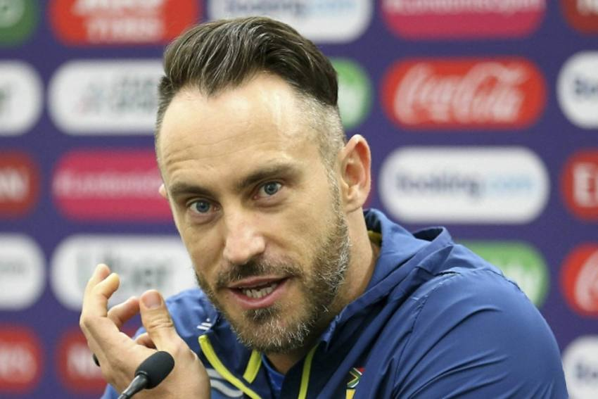 Faf Du Plessis Steps Down As South Africa Test, T20I Captain With Immediate Effect
