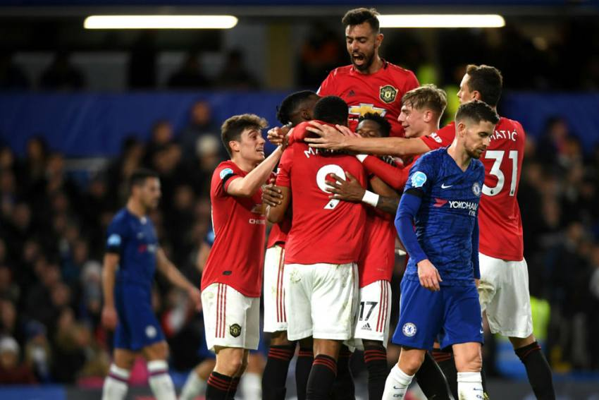 Chelsea 0-2 Manchester United: Anthony Martial, Harry Maguire Boost UEFA Champions League Hopes
