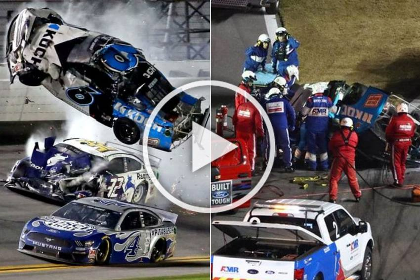 It's A Miracle He Survived: Ryan Newman Awake And Speaking After Horror Daytona 500 Crash - VIDEO