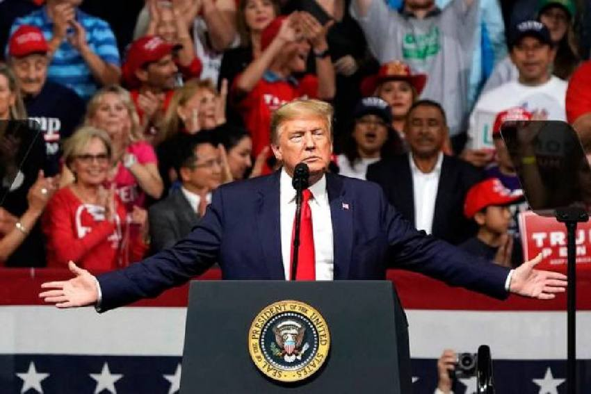 Now, Donald Trump Says 10 Million People To Welcome Him In Ahmedabad