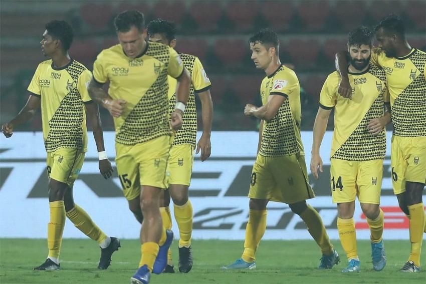 ISL: Hyderabad FC Run Riot In Guwahati, Hammer NorthEast United 5-1 To End Season In Style