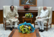 Maharashtra CM Uddhav Thackeray, Son Aditya Meet PM Modi