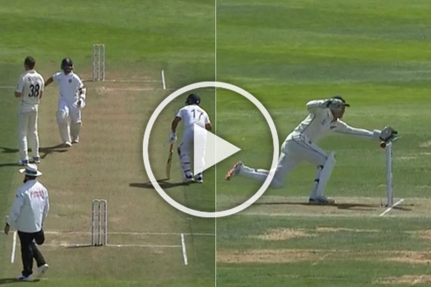 NZ Vs IND, 1st Test, Day 2: Watch Rishabh Pant's Suicidal Run-Out After Unforgivable Mix-Up With Ajinkya Rahane - Video