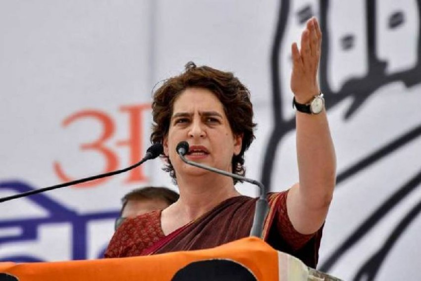 Priyanka Gandhi Demands Transparency In Rs 100 Crore Spending On Trump's Ahmedabad Visit