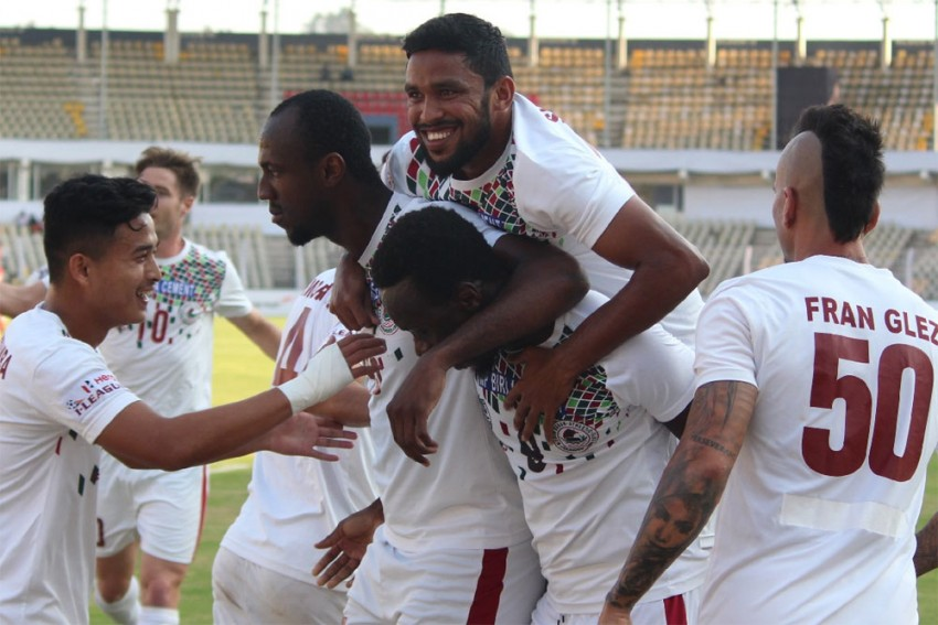 I-League: Table-Topper Mohun Bagan Thrash Churchill Brothers 3-0 To Extend Lead