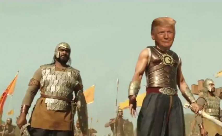 Watch: Ahead Of India Visit, Donald Trump Retweets Video Showing Him As 'Bahubali'