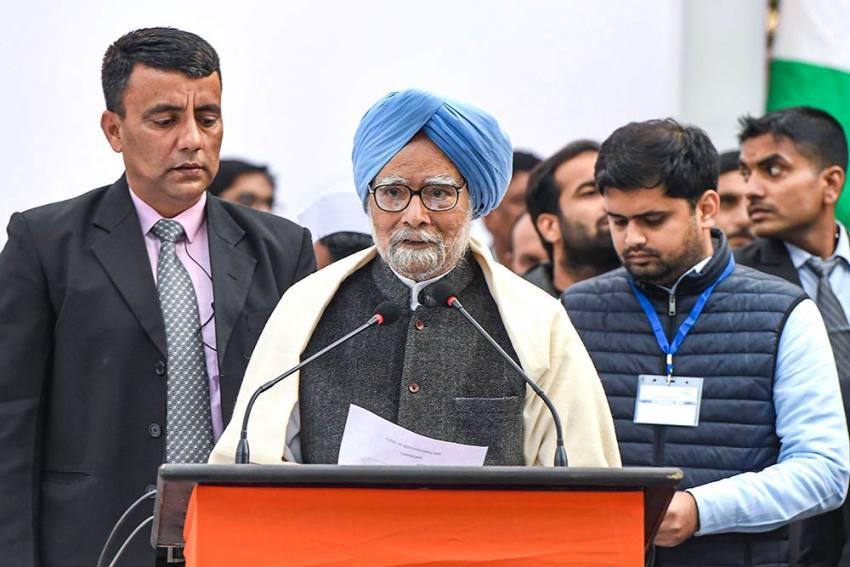 'Bharat Mata Ki Jai' Being Misused To Construct 'Militant' Idea Of India: Manmohan Singh