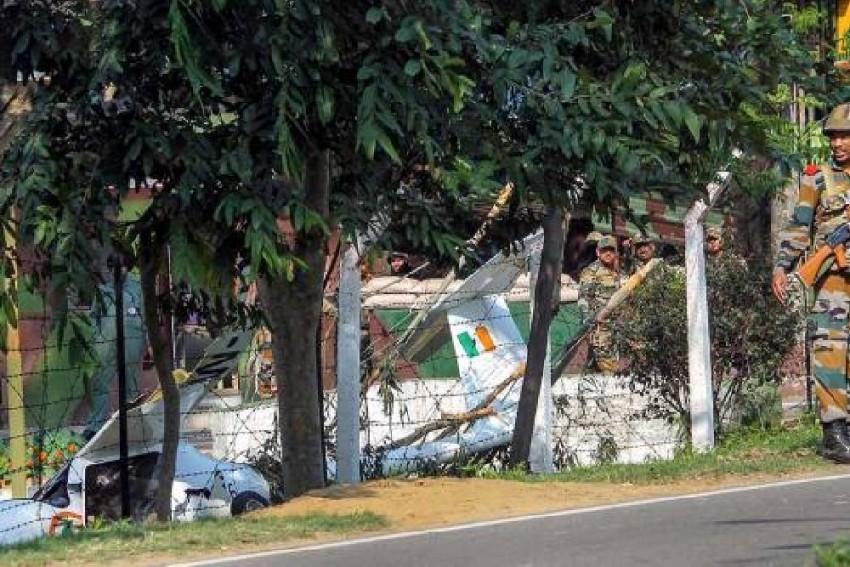 NCC Plane Crashes In Patiala, IAF Pilot Dead